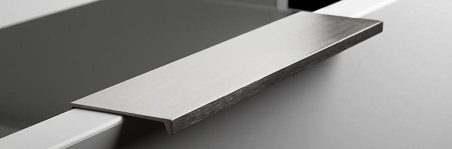 Moderne Möbelgriffe griffleisten zum einfräsen oder zur montage mit schrauben so handel de