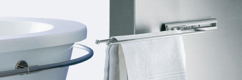 handtuchhalter handtuchauszug handtuchstange bad. Black Bedroom Furniture Sets. Home Design Ideas