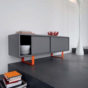eku clipo 16 h is innenfront schiebet rbeschlag f r 2 t ren so. Black Bedroom Furniture Sets. Home Design Ideas