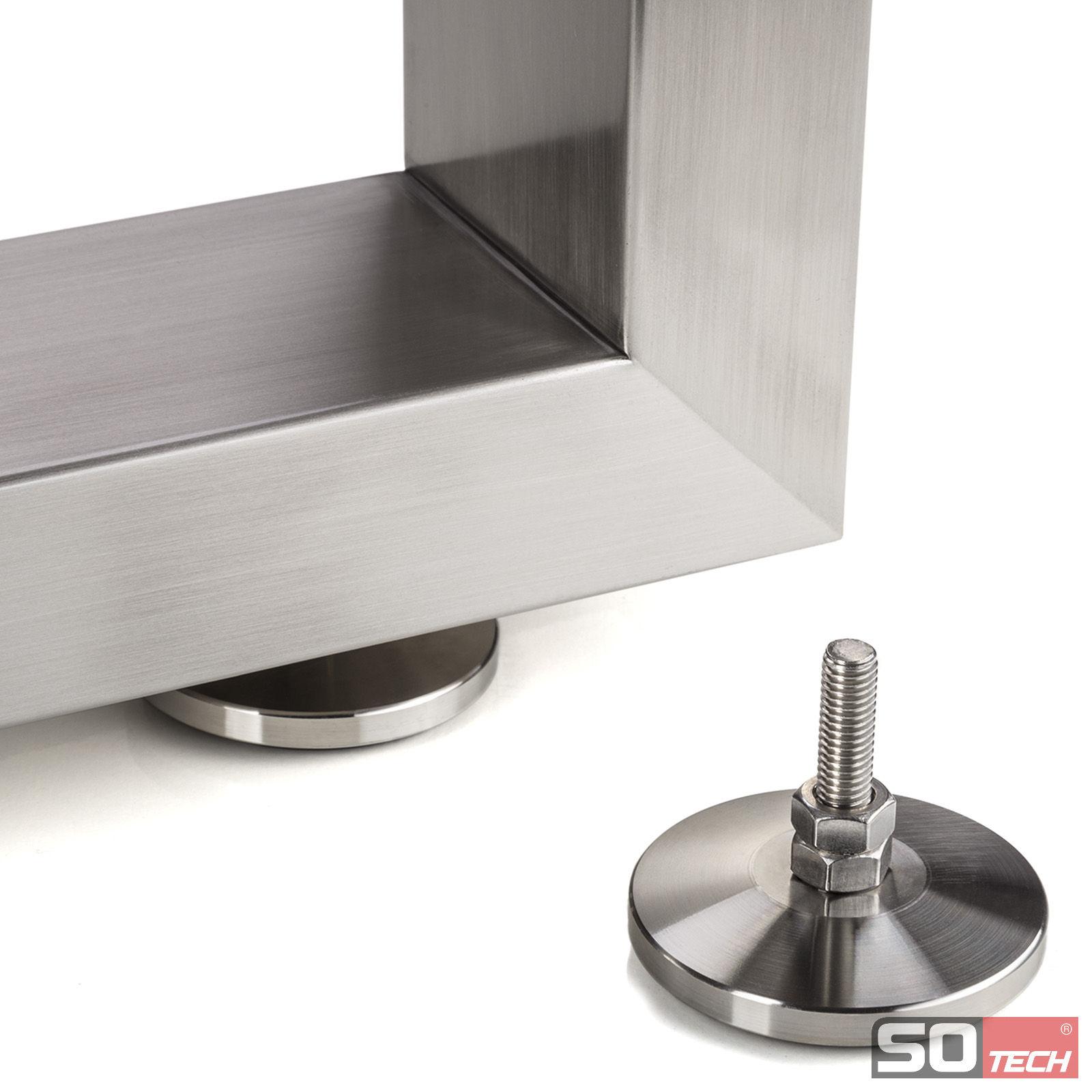 Tischgestell Kufe Echt Edelstahl Höhenverstellbar So Handelde