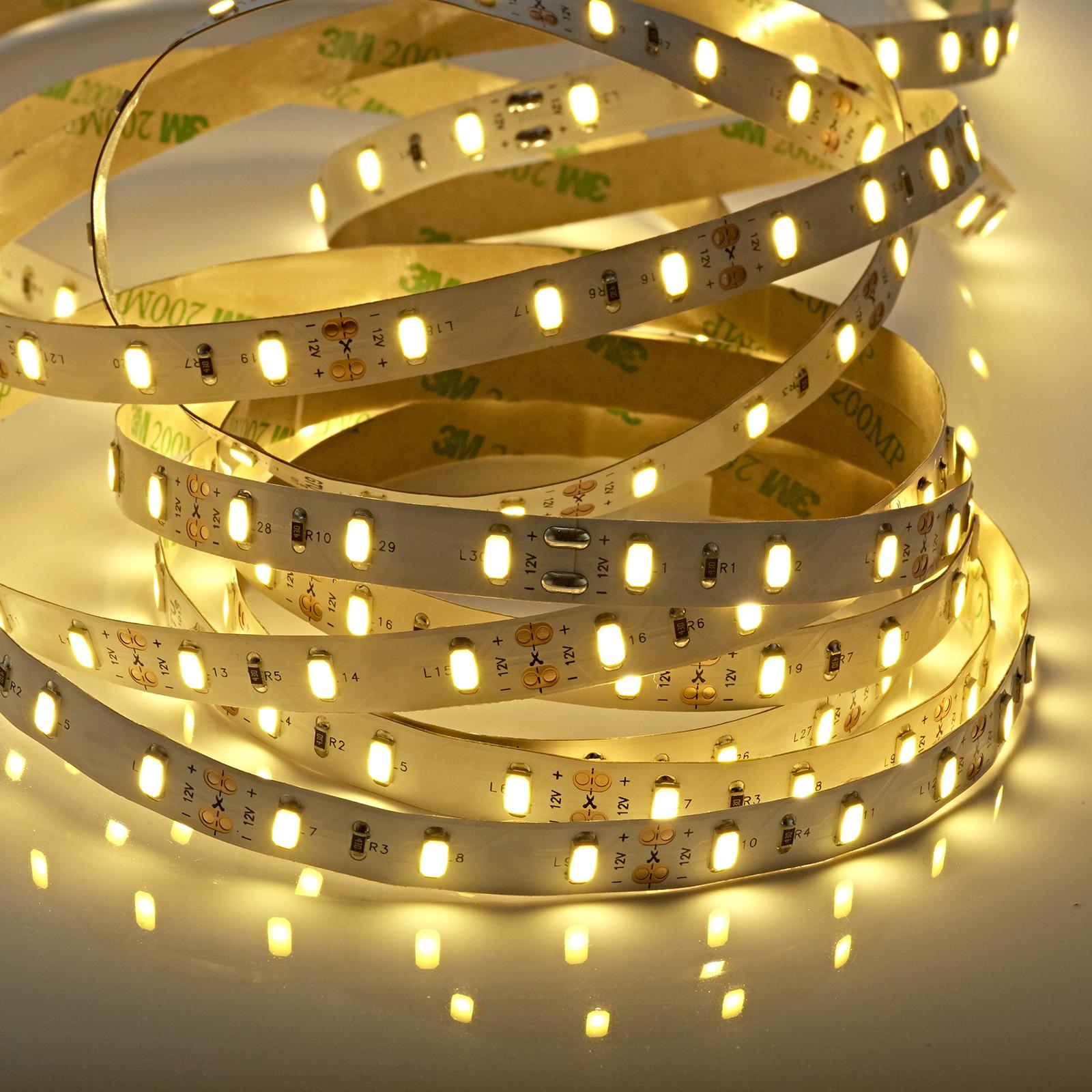LED Stripe 12 VDC 5 M Breite 8