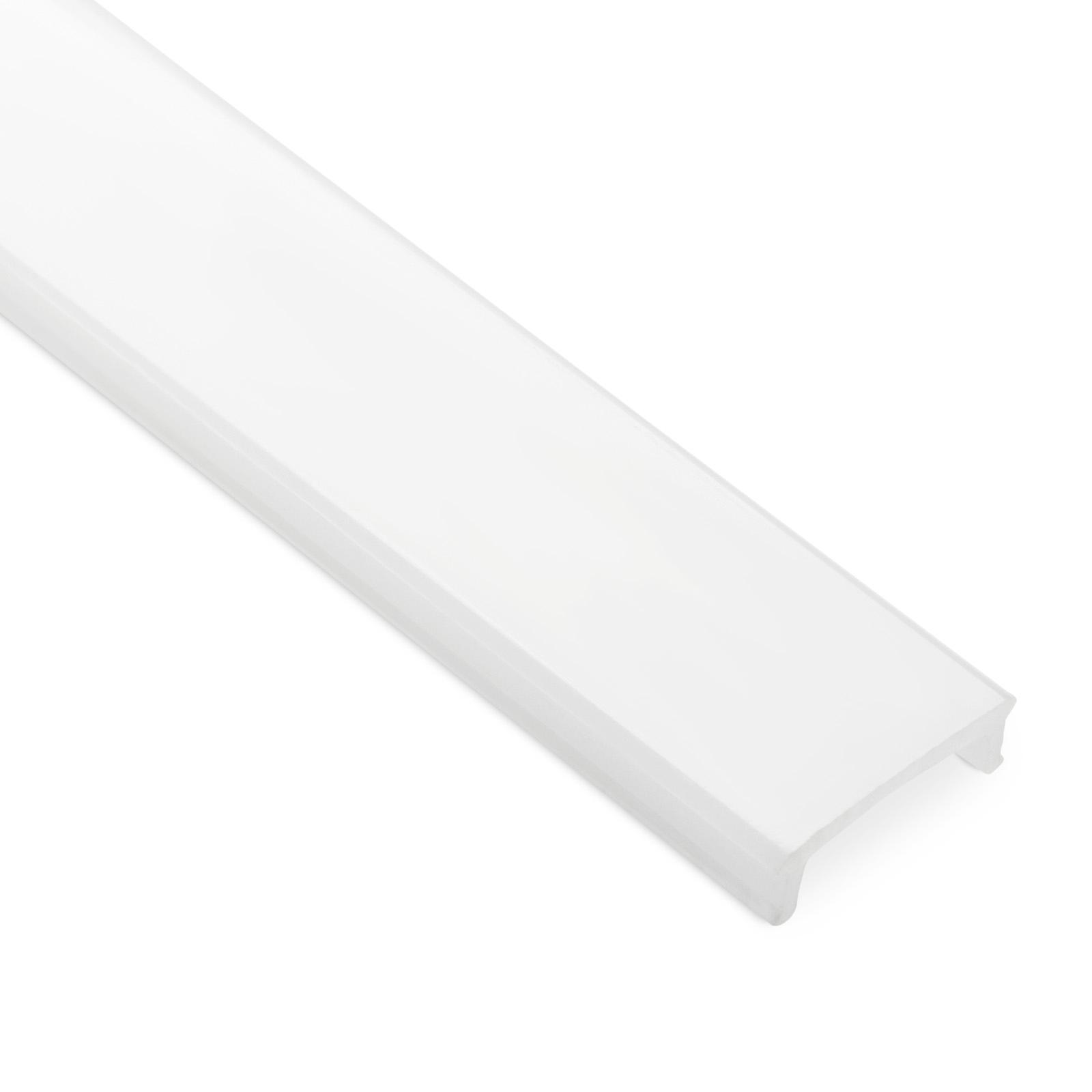 3 x LED Profil 43 Aluminium eloxiert 2000 x 17 x 41 mm mit