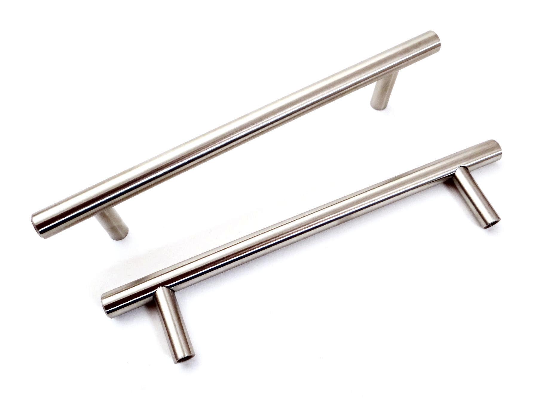 massiv /Ø 10 mm Bogengriff M/öbelgriffe ECHT EDELSTAHL geb/ürstet 320 mm BA