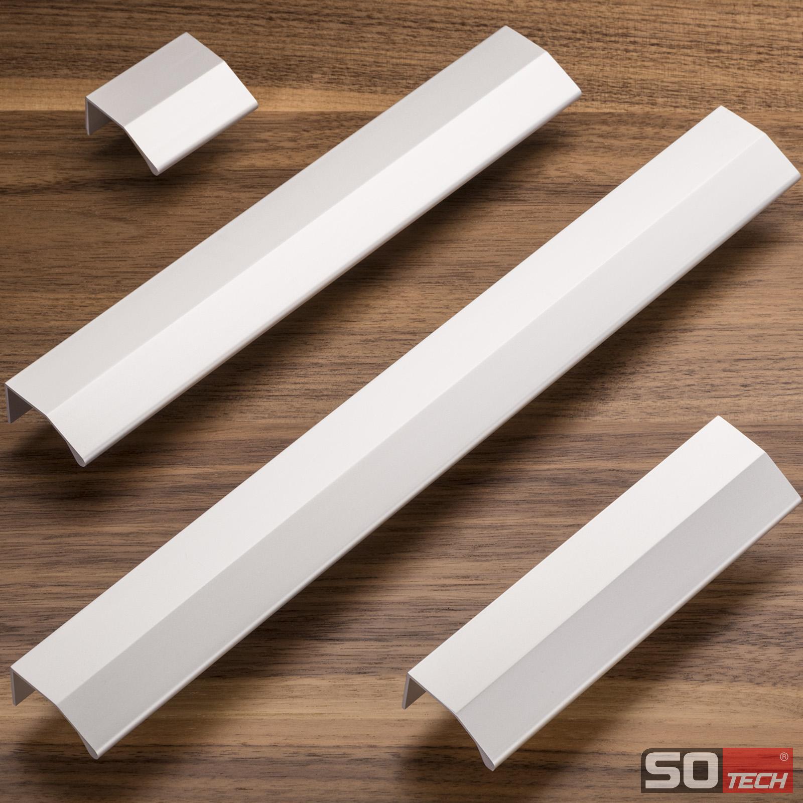 SO-TECH/® G6 Stangengriff M/öbelgriff Echt Edelstahl BA 192 mm /Ø 12 mm