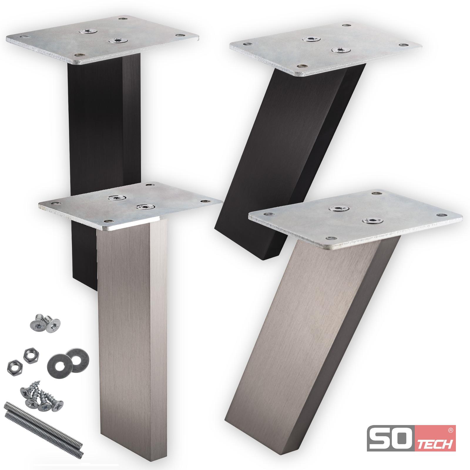 Möbelbeine Ikea so tech sotech schüco barkonsole thekenfuß bar konsole tresenstütze