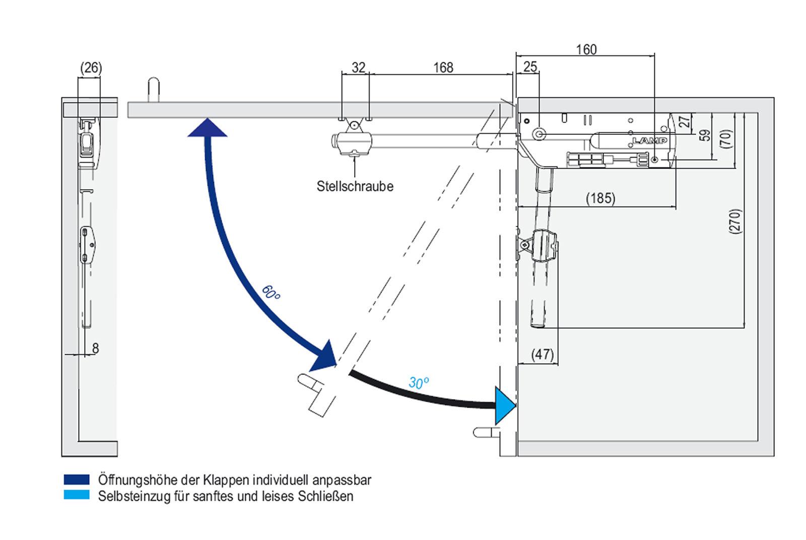 Ramses Stoppmutter Kunststoffring-sichernd DIN 985 M24 St.verz SW36  4 Stück