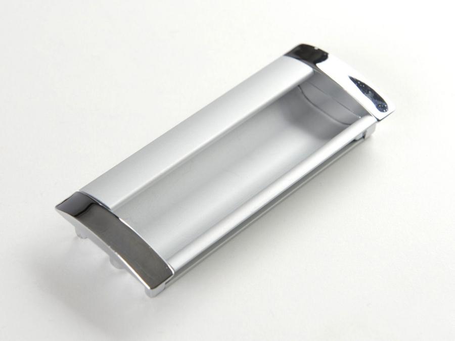 Einlassgriff El 03 Silber Eloxiert Chrom Glänzend So Handelde