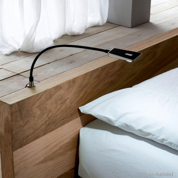 led leseleuchte bett leselampe bett wandmontage leselampe f r bett tolle ideen heitronic led. Black Bedroom Furniture Sets. Home Design Ideas