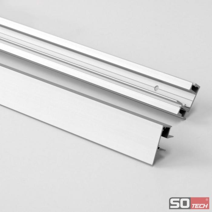 Relingsystem Küche | Kessebohmer Linero Mosaiq Relingsystem Kuchenreling Edelstahl 600