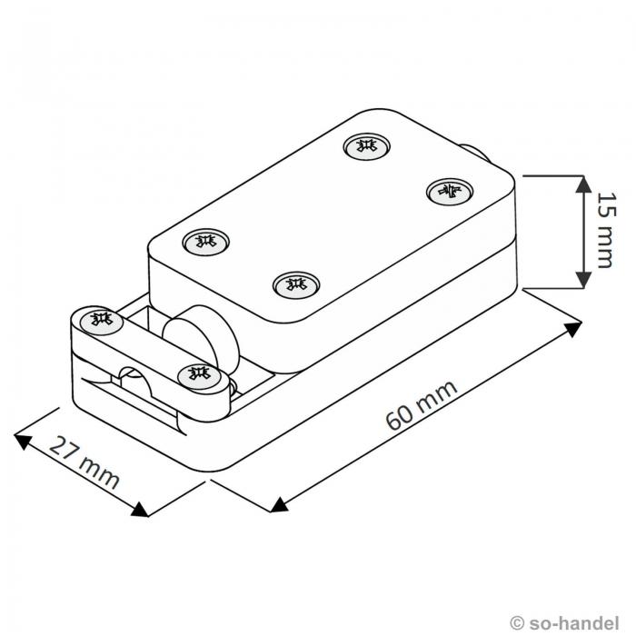spritzwassergesch tzte kabelbox verbindungsgeh use so. Black Bedroom Furniture Sets. Home Design Ideas