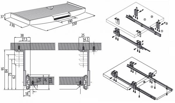 tastaturauszug mit mauspad computertisch tastatur schreibtisch so. Black Bedroom Furniture Sets. Home Design Ideas